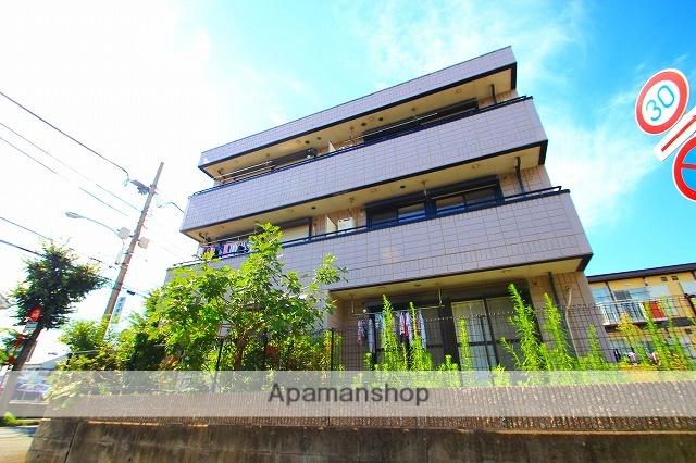 埼玉県富士見市、みずほ台駅徒歩6分の築18年 3階建の賃貸マンション