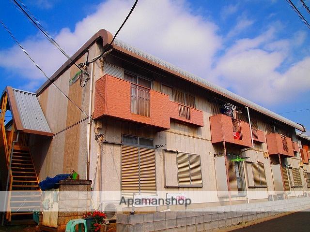 埼玉県ふじみ野市、ふじみ野駅徒歩16分の築31年 2階建の賃貸アパート