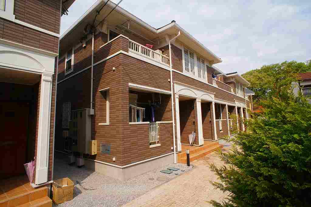 埼玉県川越市、ふじみ野駅徒歩48分の築7年 2階建の賃貸アパート