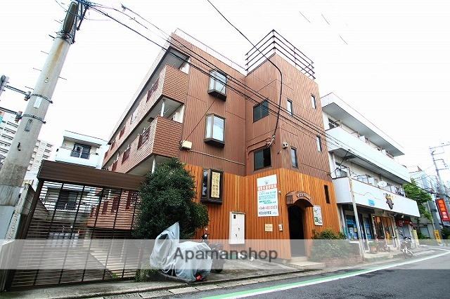 埼玉県朝霞市、北朝霞駅徒歩4分の築30年 3階建の賃貸マンション