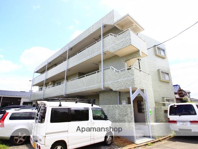 埼玉県川越市、新河岸駅徒歩12分の築27年 3階建の賃貸マンション