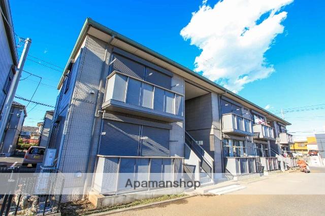 埼玉県川越市、上福岡駅徒歩20分の築13年 2階建の賃貸アパート