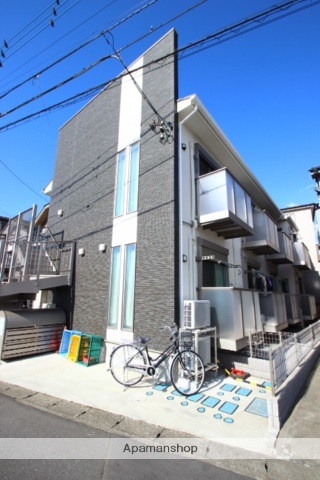 埼玉県富士見市、柳瀬川駅徒歩15分の築2年 2階建の賃貸アパート