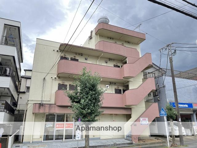 埼玉県川越市、ふじみ野駅徒歩45分の築36年 4階建の賃貸マンション