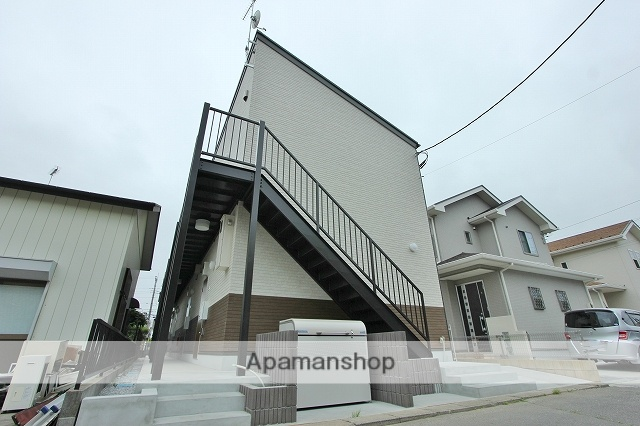 埼玉県川越市、上福岡駅徒歩15分の築1年 2階建の賃貸アパート