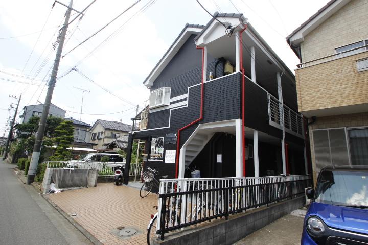 埼玉県川越市、新河岸駅徒歩17分の築29年 2階建の賃貸アパート