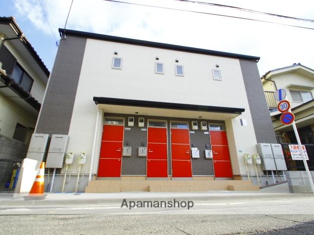 埼玉県新座市、朝霞台駅徒歩20分の新築 2階建の賃貸アパート