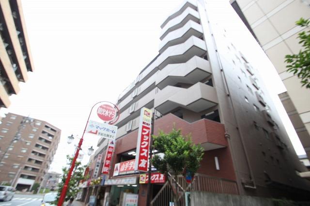 埼玉県新座市、北朝霞駅徒歩17分の築35年 8階建の賃貸マンション