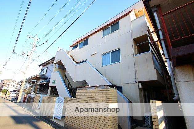 埼玉県富士見市、柳瀬川駅徒歩43分の築29年 3階建の賃貸マンション