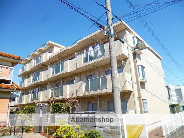 埼玉県富士見市、柳瀬川駅徒歩20分の築28年 4階建の賃貸マンション