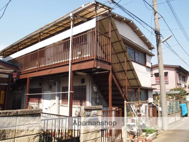 埼玉県富士見市、鶴瀬駅徒歩10分の築45年 2階建の賃貸アパート