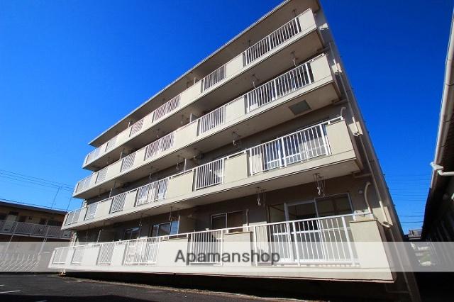 埼玉県富士見市、みずほ台駅徒歩11分の築30年 4階建の賃貸マンション