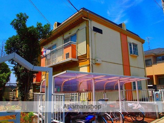 埼玉県富士見市、みずほ台駅徒歩30分の築23年 2階建の賃貸アパート