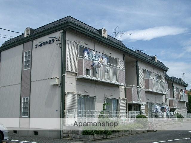 埼玉県富士見市、みずほ台駅徒歩40分の築26年 2階建の賃貸アパート