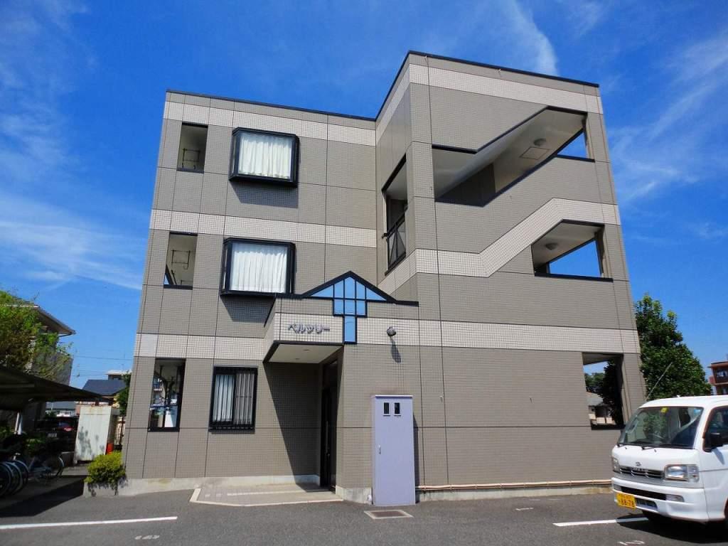 埼玉県富士見市、ふじみ野駅徒歩8分の築17年 3階建の賃貸マンション