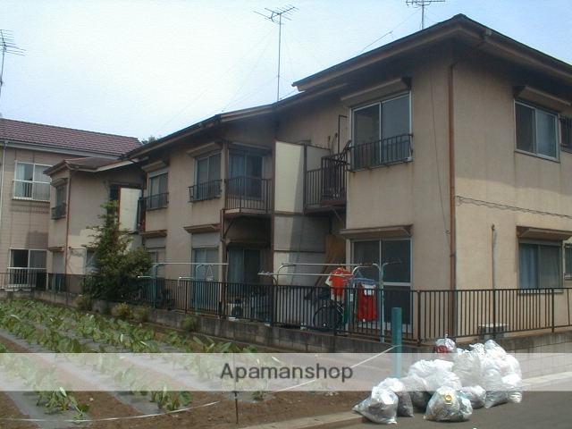 埼玉県川越市、上福岡駅徒歩10分の築41年 2階建の賃貸アパート