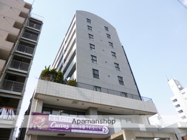 埼玉県富士見市、志木駅徒歩40分の築23年 9階建の賃貸マンション