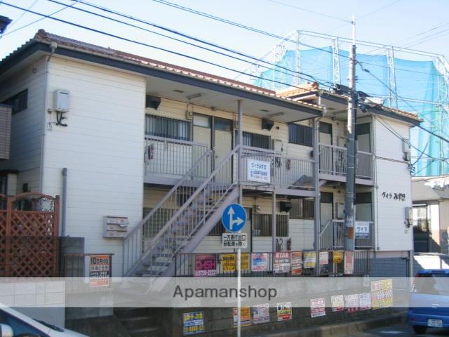 埼玉県富士見市、みずほ台駅徒歩8分の築26年 2階建の賃貸アパート