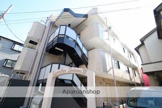 埼玉県富士見市、柳瀬川駅徒歩15分の築30年 3階建の賃貸マンション