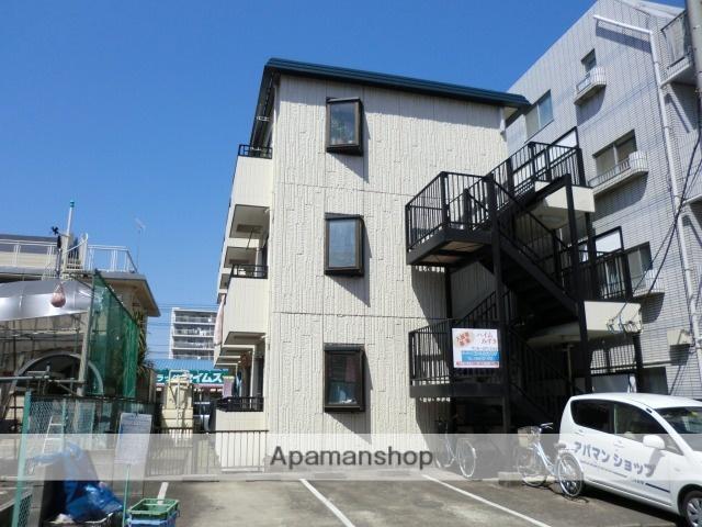 埼玉県入間郡三芳町、みずほ台駅徒歩11分の築28年 3階建の賃貸マンション