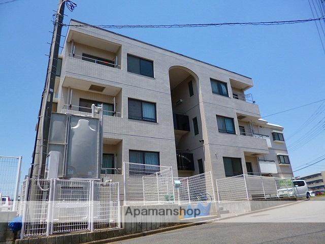 埼玉県富士見市、みずほ台駅徒歩10分の築23年 3階建の賃貸マンション