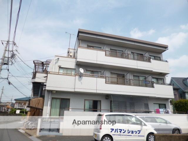 埼玉県富士見市、みずほ台駅徒歩5分の築27年 3階建の賃貸マンション