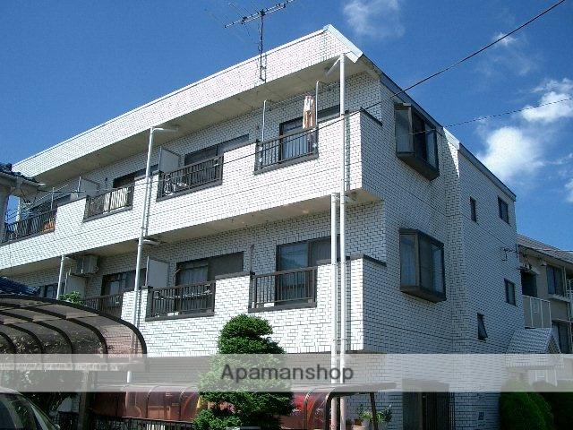 埼玉県富士見市、みずほ台駅徒歩10分の築29年 3階建の賃貸マンション