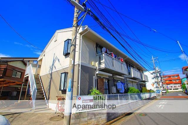埼玉県富士見市、みずほ台駅徒歩6分の築28年 2階建の賃貸アパート