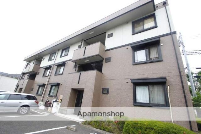 埼玉県富士見市、鶴瀬駅徒歩30分の築20年 3階建の賃貸アパート