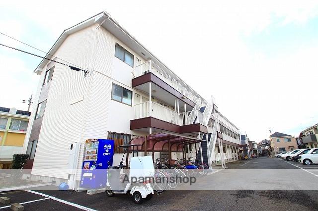 埼玉県富士見市、鶴瀬駅徒歩17分の築21年 3階建の賃貸マンション
