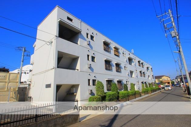 埼玉県富士見市、みずほ台駅徒歩34分の築30年 3階建の賃貸マンション