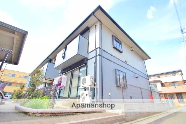 埼玉県富士見市、みずほ台駅徒歩25分の築17年 2階建の賃貸アパート
