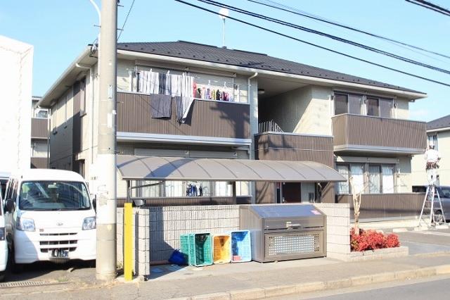 埼玉県富士見市、柳瀬川駅徒歩17分の築5年 2階建の賃貸アパート