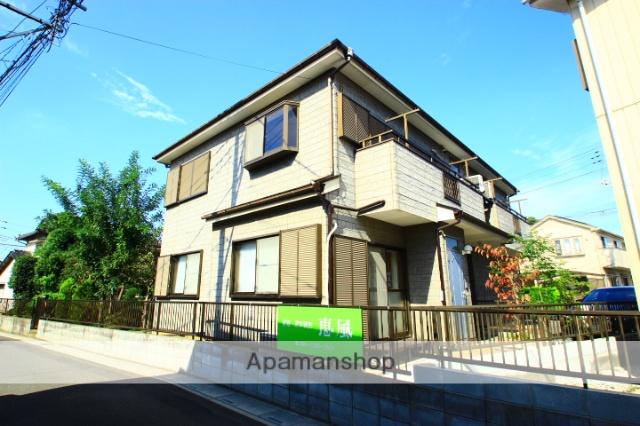 埼玉県ふじみ野市、鶴瀬駅徒歩30分の築18年 2階建の賃貸アパート