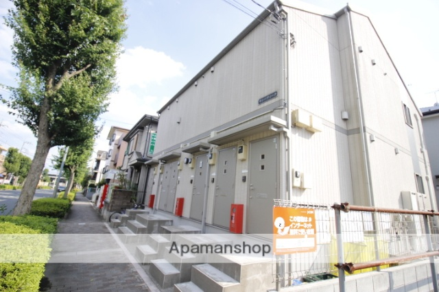 埼玉県富士見市、ふじみ野駅徒歩4分の築11年 2階建の賃貸アパート