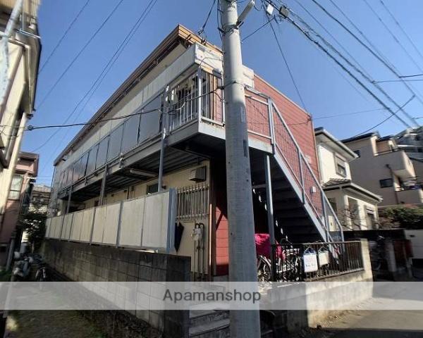 埼玉県川越市、上福岡駅徒歩6分の築41年 2階建の賃貸アパート