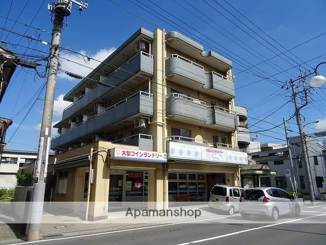 埼玉県川越市、ふじみ野駅徒歩40分の築27年 4階建の賃貸マンション