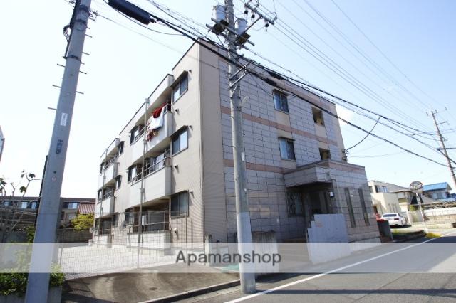 埼玉県川越市、上福岡駅徒歩11分の築8年 3階建の賃貸アパート