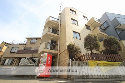 埼玉県富士見市、鶴瀬駅徒歩15分の築29年 4階建の賃貸マンション
