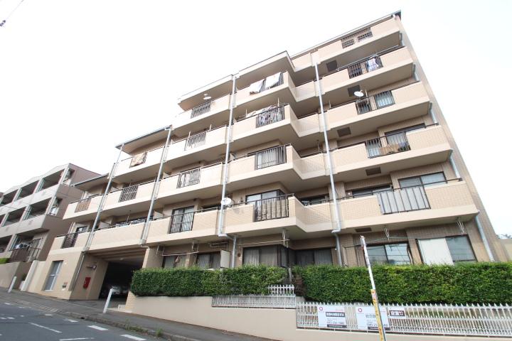 埼玉県朝霞市、北朝霞駅徒歩5分の築27年 6階建の賃貸マンション