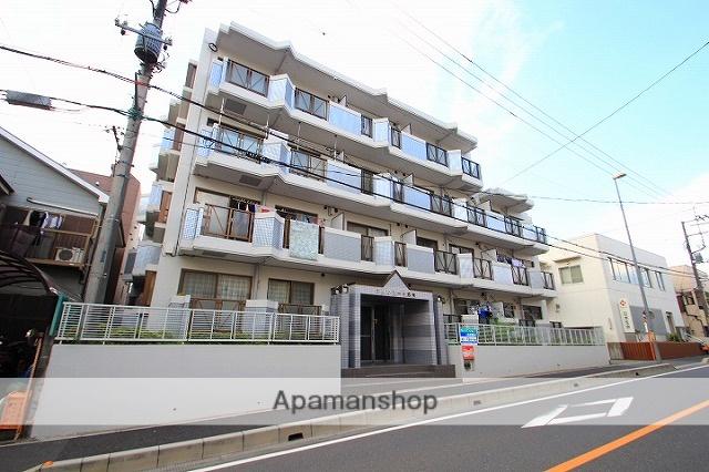埼玉県志木市、北朝霞駅徒歩23分の築27年 4階建の賃貸マンション
