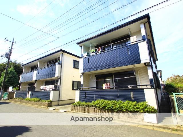 埼玉県川越市、上福岡駅徒歩15分の築14年 2階建の賃貸アパート