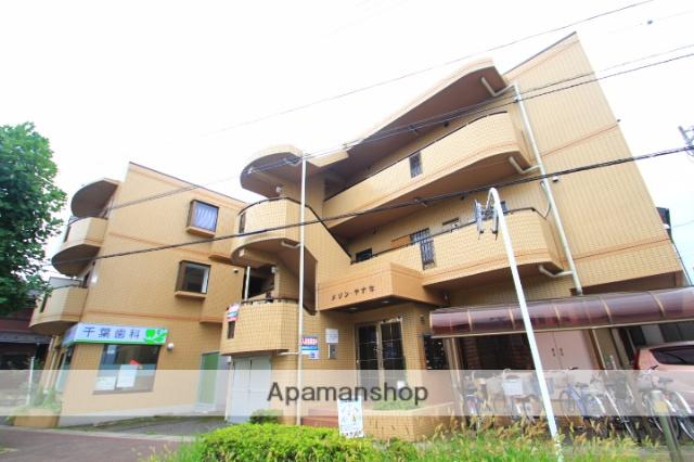 埼玉県志木市、志木駅徒歩19分の築25年 3階建の賃貸マンション