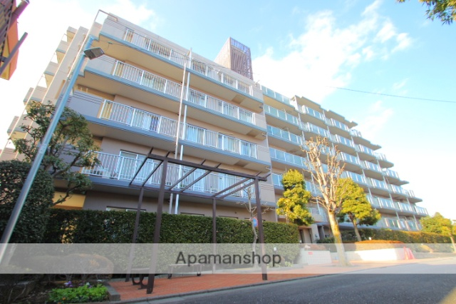 埼玉県富士見市、みずほ台駅徒歩15分の築29年 7階建の賃貸マンション