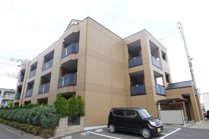 埼玉県ふじみ野市、ふじみ野駅徒歩8分の築10年 3階建の賃貸マンション