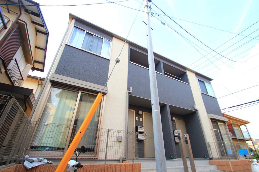 埼玉県富士見市、みずほ台駅徒歩9分の築7年 2階建の賃貸アパート