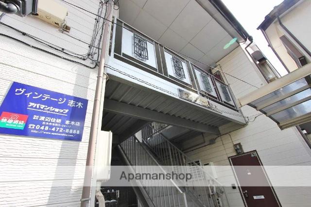 埼玉県志木市、北朝霞駅徒歩26分の築30年 2階建の賃貸アパート