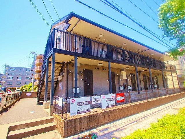 埼玉県富士見市、鶴瀬駅徒歩45分の築16年 2階建の賃貸アパート