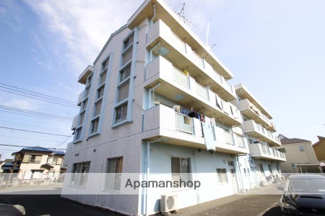 埼玉県川越市、新河岸駅徒歩12分の築28年 4階建の賃貸マンション