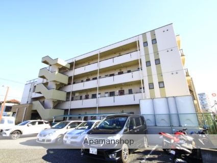 埼玉県川越市、上福岡駅徒歩25分の築25年 4階建の賃貸マンション